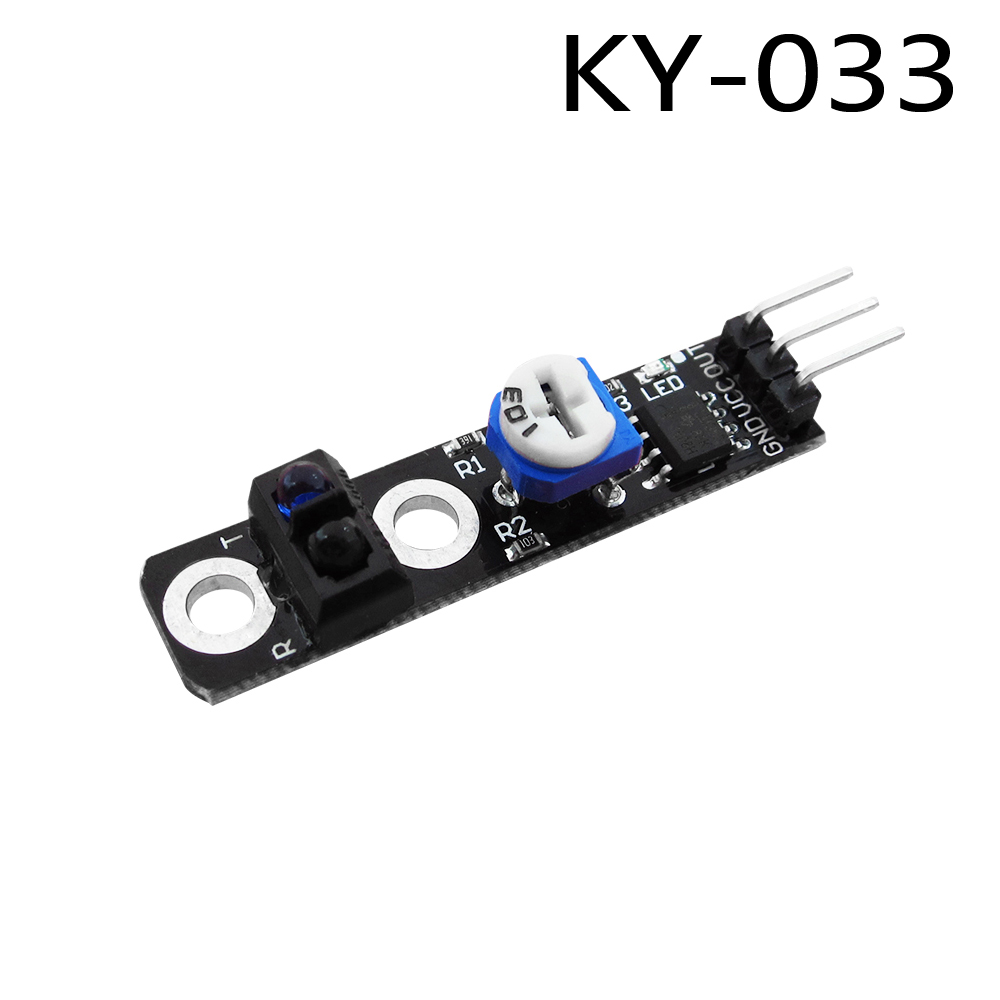 Diy KY-033 One Channel 3 pin Tracking Path Tracing Module Intelligent Vehicle Probe Infrared Detection SensorDiy KY-033 One Channel 3 pin Tracking Path Tracing Module Intelligent Vehicle Probe Infrared Detection Sensor