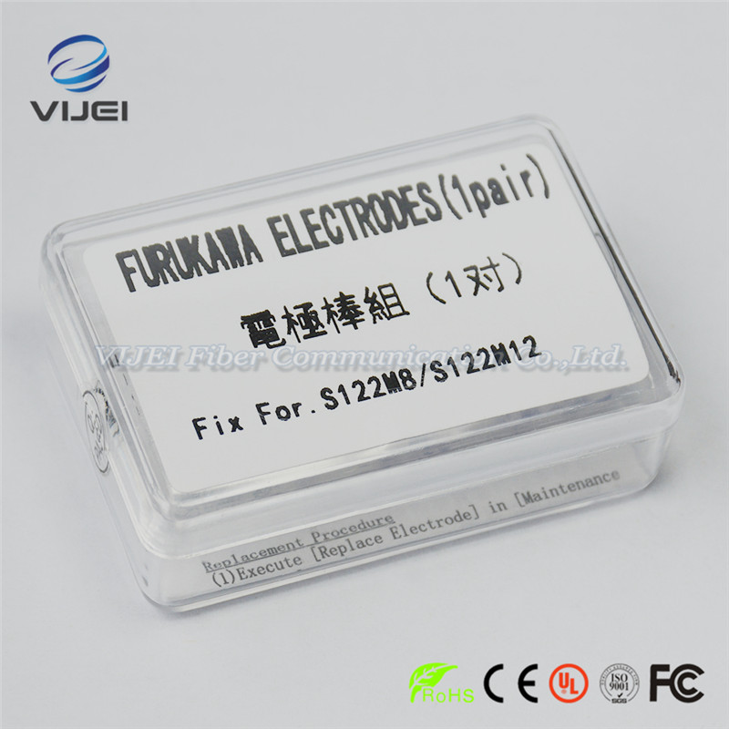 Furukawa S967 Electrodes S122M8 S122M12 Optical Fiber Fusion Splicer Electrodes 1pairFurukawa S967 Electrodes S122M8 S122M12 Optical Fiber Fusion Splicer Electrodes 1pair