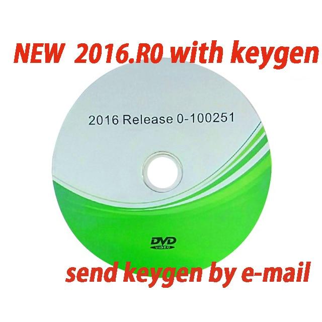 Livraison gratuite 2019 VD DS150E CDP Bluetooth 2016. R0 avec Keygen sur cd Diagnostic pour les voitures delphis camion OBD2 obdii Scanner tcs cdp pro 4