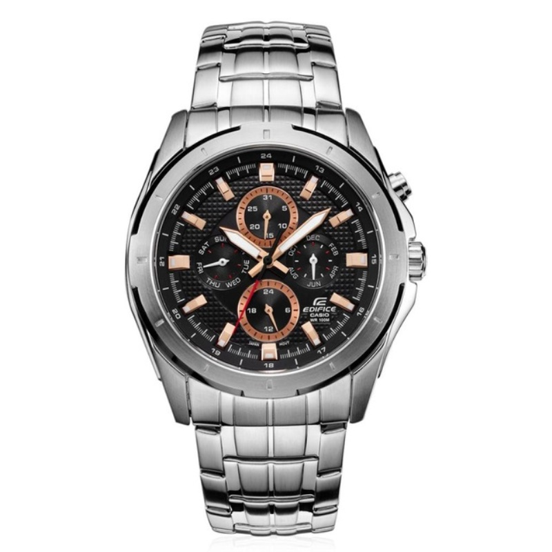 Casio Edifice Watch quartz watch stainless steel Wrist Watch relogio masculino men's business 10 bar waterproof watch EF-328D-1A benefit goof proof brow pencil карандаш для объема бровей 05 deep тёмно коричневый