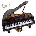 Brinquedos educativos de simulação de um pequeno 17-chave teclado de piano música de piano eletrônico