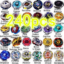 Ny anländer! grossist 240 st Rapid Beyblade 4D Beyblade Metal Fusion Beyblade 48 modeller mix Spin Top Toy for Gifts