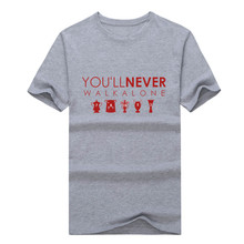 You'll Never Walk Alone  T-shirt NEW S-3XL T shirt for liverpool fans all champions
