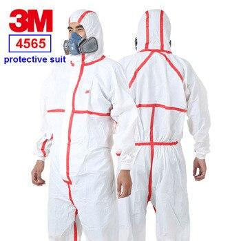 3 mt 4565 Siamese schutz kleidung Rot streifen Mit Kapuze schutzhülle anzug Epidemie prävention pestizid Spray farbe Sicherheit kleidung