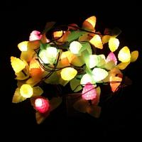 3m 28 Led Lights Creative Lovely Grapes Fruit Colorful Adjustable Led Light String For Wedding Party Christmas Holiday Deco1915