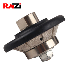 цены Raizi Vacuum Brazed Hand Profiler Wheel Bevel 5-20 mm Diamond Profile Grinding Wheel For Angle Grinder On Granite Marble Stone
