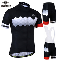 SIILENYOND Gannon Breathable Cycling Jersey Summer MTB Clothes Bicycle Clothing Ropa Maillot Ciclismo Racing Cycling Jersey