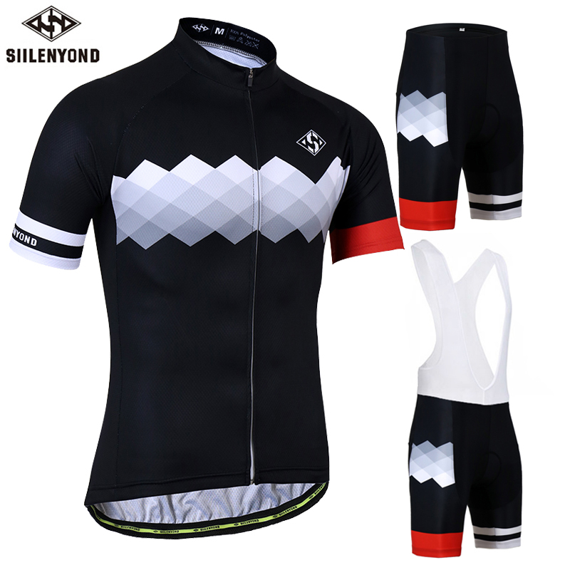 SIILENYOND Gannon Breathable Cycling Jersey Summer MTB Clothes Bicycle Clothing Ropa Maillot Ciclismo Racing Cycling Jersey set breathable cycling jersey summer mtb ciclismo clothing bicycle short maillot sportwear spring bike bisiklet clothes ciclismo