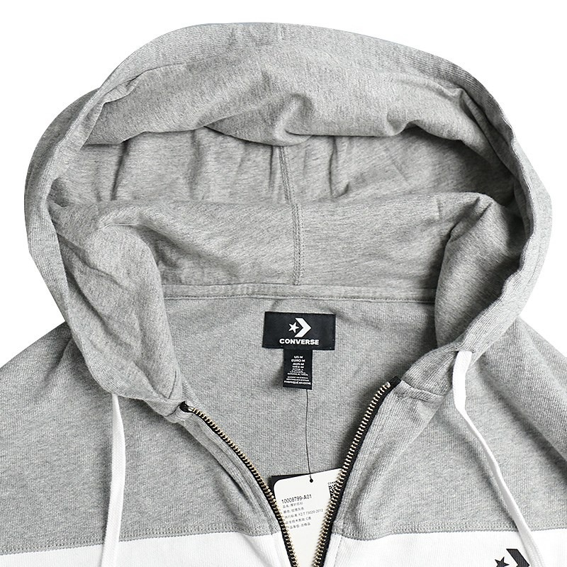 94e16faba53d Original New Arrival 2018 Converse Lightweight Wordmark Hoodie Men s Jacket  Hooded Sportswear-in Running Jackets from Sports   Entertainment on ...