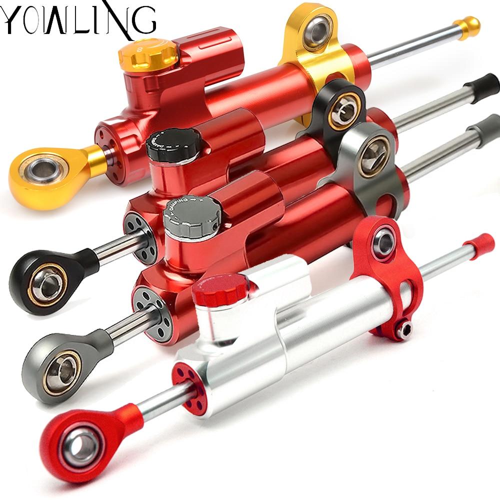 Motorcycle CNC Damper Stabilizer Damper Steering Reversed Safety Control For bajaj pulsar 200ns 200 NS 200