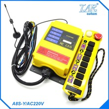 Remote 500m nine button crane industrial wireless remote control can be customized receiver AC110V Industrial Remote Control  2u 450 industrial control industrial case instrument case pc can be full of high power amplifiers pci card
