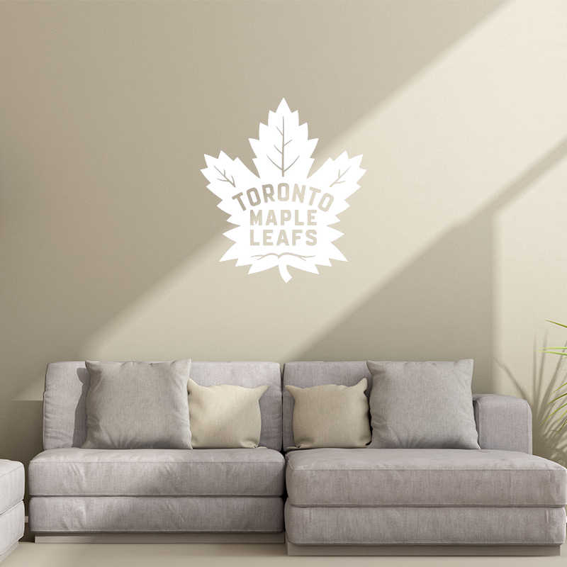 58af06e28a2 ... Toronto Maple Leafs Vinyl Wall Stickers For Kids Room Fashion  Removeable Decal Livingroom Bedroom Decoration Art ...