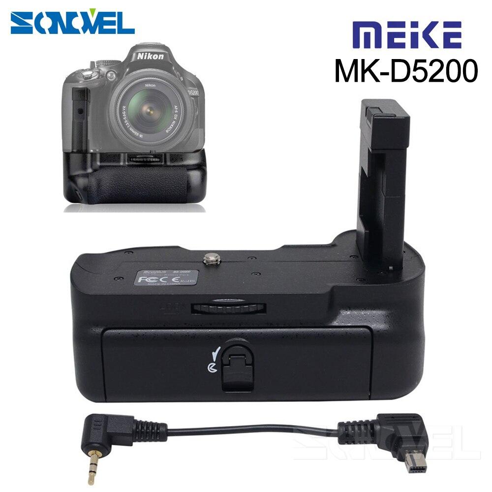 Meike MK-D5200 poignée de batterie verticale professionnelle pour Nikon DSLR D5200 caméra EN-EL14