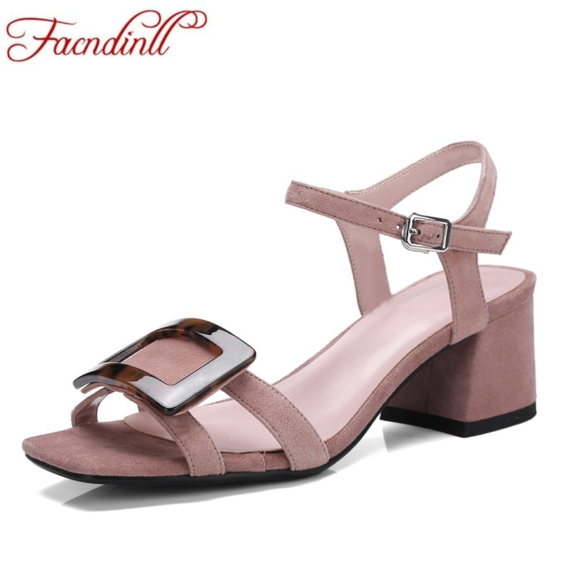 FACNDINLL hot sellers genuine leather women new fashion peep toe shoes woman dress party office lady shoes concise leisure style facndinll new genuine leather women gladiator sandals fashion sexy high heels peep toe shoes woman dress party office lady shoes