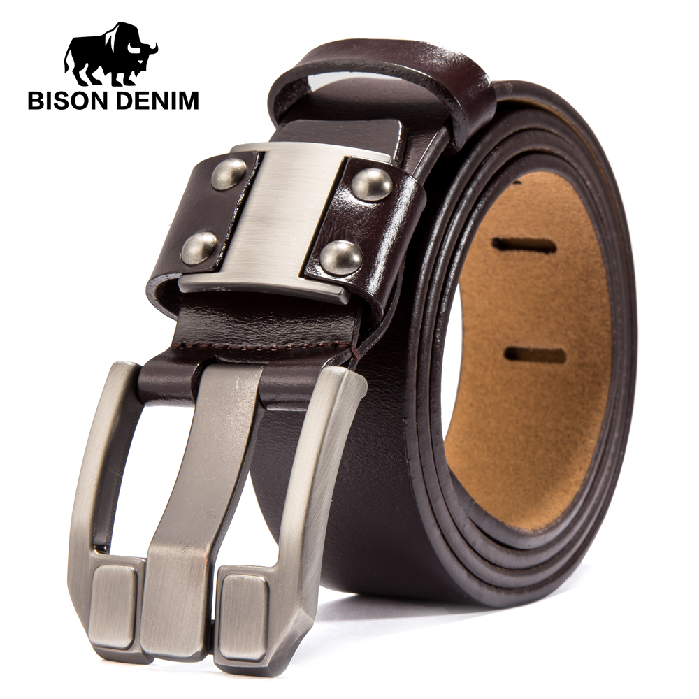 BISON DENIM Men's Jeans Belts