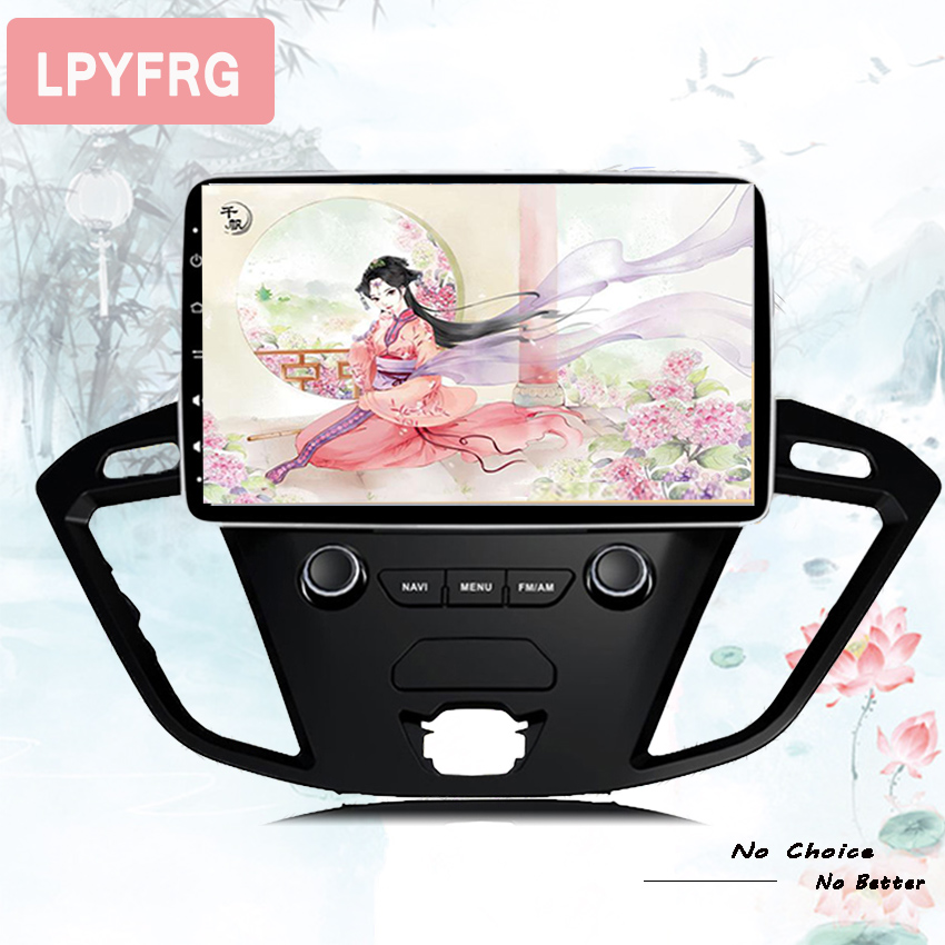 """Excellent 2Din 9""""Android 9.0 Car DVD Radio Player Fit Ford Transit Custom Tourneo 2013 - 2018 GPS Navigation 8Core 4G+364G WIFi Multimedia 0"""