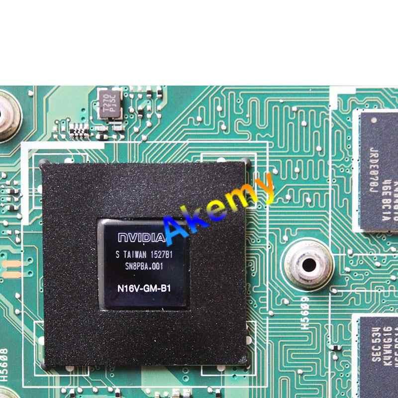 AK X751LD Papan Utama I3-4010 GT820 DDR3 Forasus R752L X751L X751LN Motherboard Laptop X751LD Mainboard X751LD Papan Utama