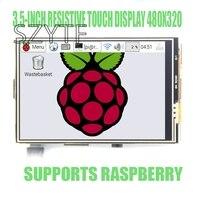 Raspberry PI3 PI2 B 3 3 5 Inch Resistive Touch LCD Display