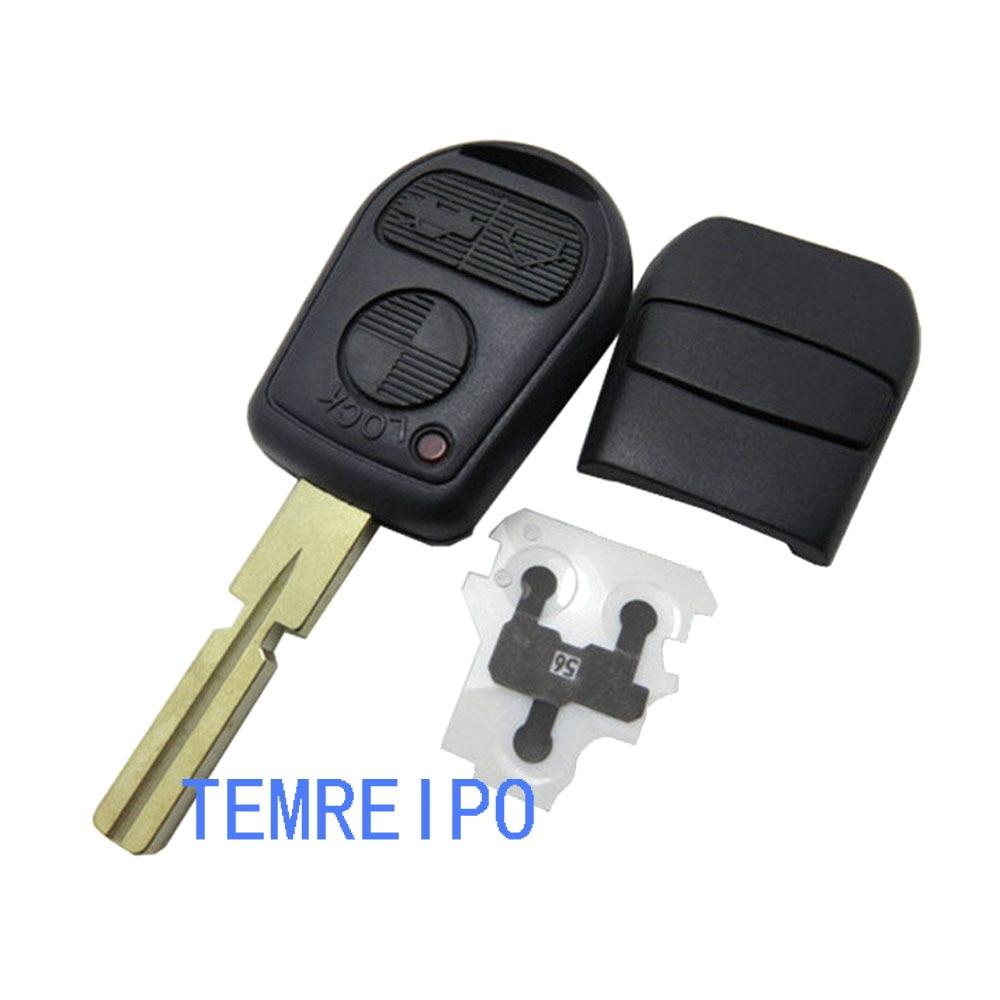 3 Button Remote Key Fob Case Shell Fit For Bmw E31 E32 E34 E36 E38 E39