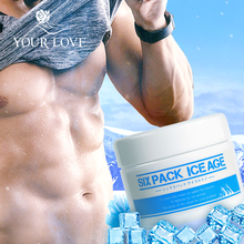 Japonês seis pacote de idade do gelo homens corpo moldar dieta apoio massagem creme queima de gordura anti celulite emagrecimento gel perda de peso creme