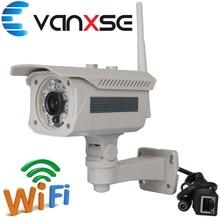 Vanxse CCTV 1.0MP 720P 90degree 3.6mm Security Network 8pcs Array IR LED IR-CUT Day/night IP Camera P2P View Surveillance