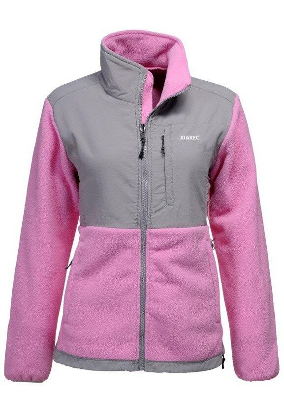Pink Fleece Jacket 6vkC1a