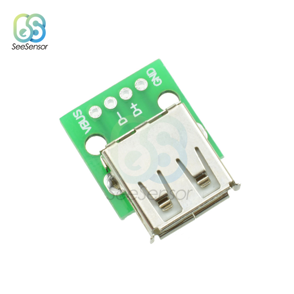 10x Mini MICRO USB to DIP Adapter 5Pin Female Connector PCB Converter Board Hot