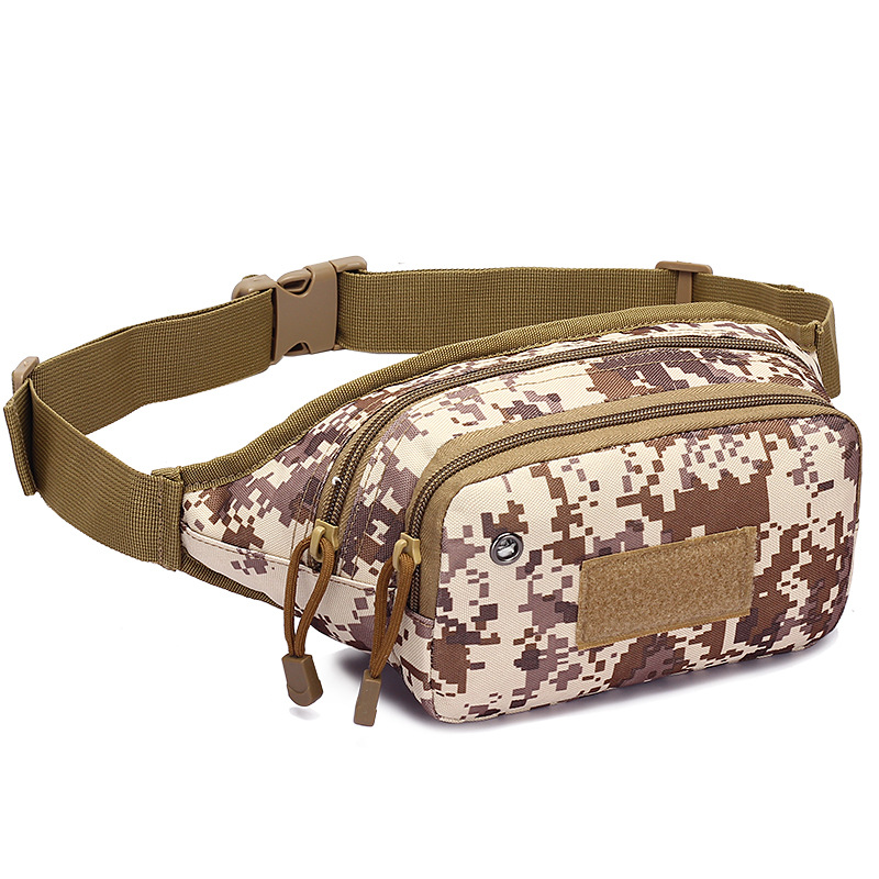 Outdoor Sports Bags Portable Waist Bag Military Camping Hiking Tactical Bag Durable 800D TPU Hunting Running Bags