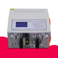 Wire Stripping Machine SWT508 Series Four Wheel Drive Computer Automatic Cable Wire Cutting Machine 0.1 to 4.5 or 8 or 10 mm2