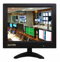 8 Cal VGA AV BNC HDMI USB przemysłowy Monitor bezpieczeństwa LCD Monitor komputerowy HD przenośny wyświetlacz wiele opcji interfejsu