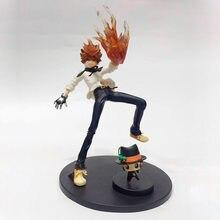 Anime 1/8th escala hitman renascer tsunayoshi sawada figura de ação kyoya hibari pvc brinquedos 21-23cm