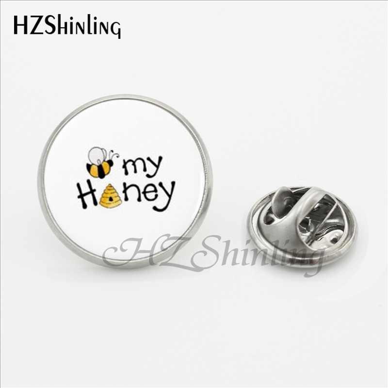2017 New Trendy Queen Bee เข็มกลัด Pin เข็มกลัดแฟชั่นน้ำผึ้ง Bee แมลงสแตนเลส Lapel Pins สำหรับชายเสื้อเครื่องประดับเข็มกลัด