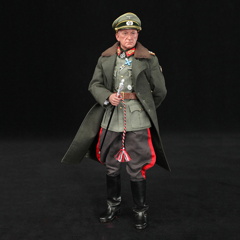 1/6 WWII German Officer Stanford Erich Action Figures for Gift Collection 1pcs action figures toy kids gift collection for trumpeter 01524 1 35 flakvierling 38 sd kfz 7 1 late