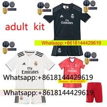 37a08459d9b NEW 2018 2019 REAL MADRID jersey 18 19 AWAY football camisetas RONALDO BALE  BENZEMA Thai AAA FOOTBALL shirt Soccer jersey