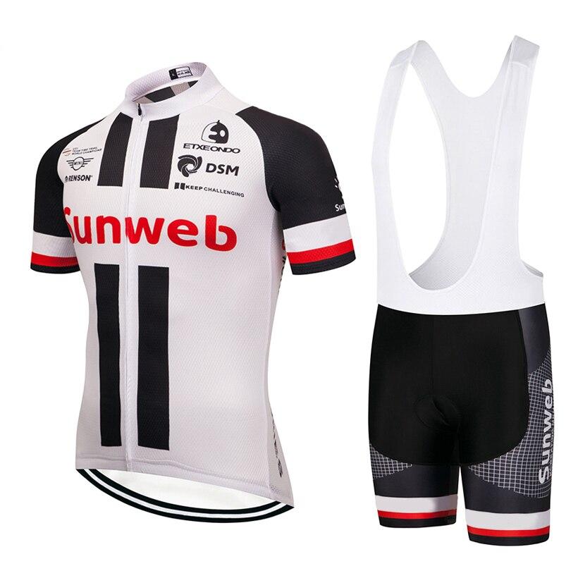 2019 equipe sunweb vermelho pro ciclismo camisa