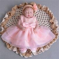 55cm Full Silicone Body Reborn Baby sleeping Doll Toy Like Real 22inch lifelike real looking Babies Doll Bathe birthday presents