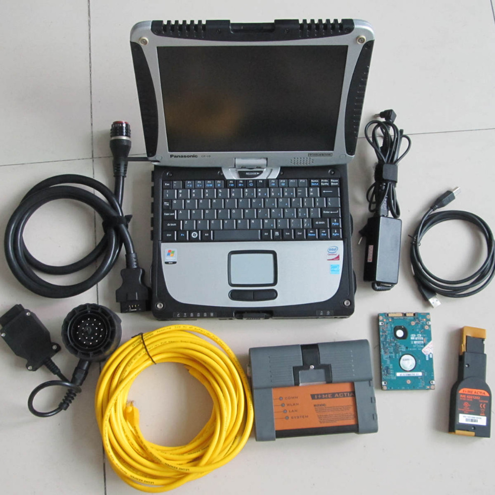 2016.12v for bmw icom a2 b c with laptop cf19 diagnostic pc software 500gb hdd ista expert mode diagnostic tool for bmw