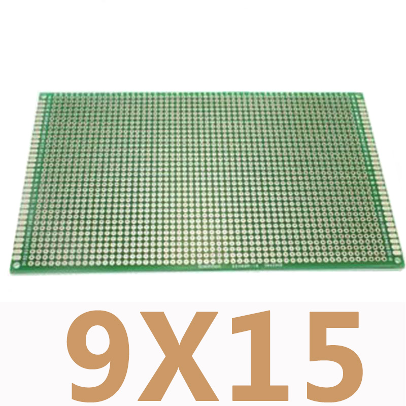 1pc Universal Double Side Board PCB 7x9cm 1.6mm 2.54mm DIY Prototype Paper PCB