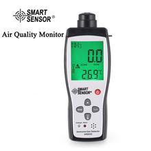 SMART SENSOR AR8500 Air Quality Monitor Gas Meter Ammonia TEMP Detector Analyzer Handheld Tester Temperature Thermometer air pollution monitor 6 in 1 multi function laser sensor smart calibration pm2 5 pm10 pm1 0 air quality monitor gas analyzer