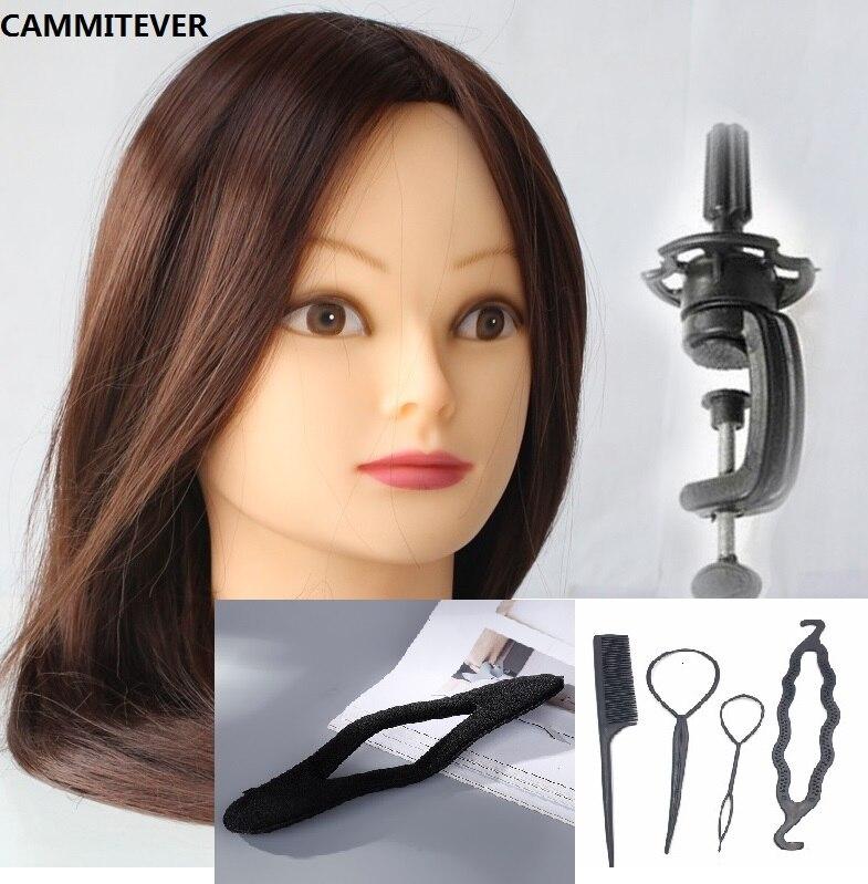 CAMMITEVER 2018 Ny utbildning Mannequin Head for Doll Frisörer - Konst, hantverk och sömnad