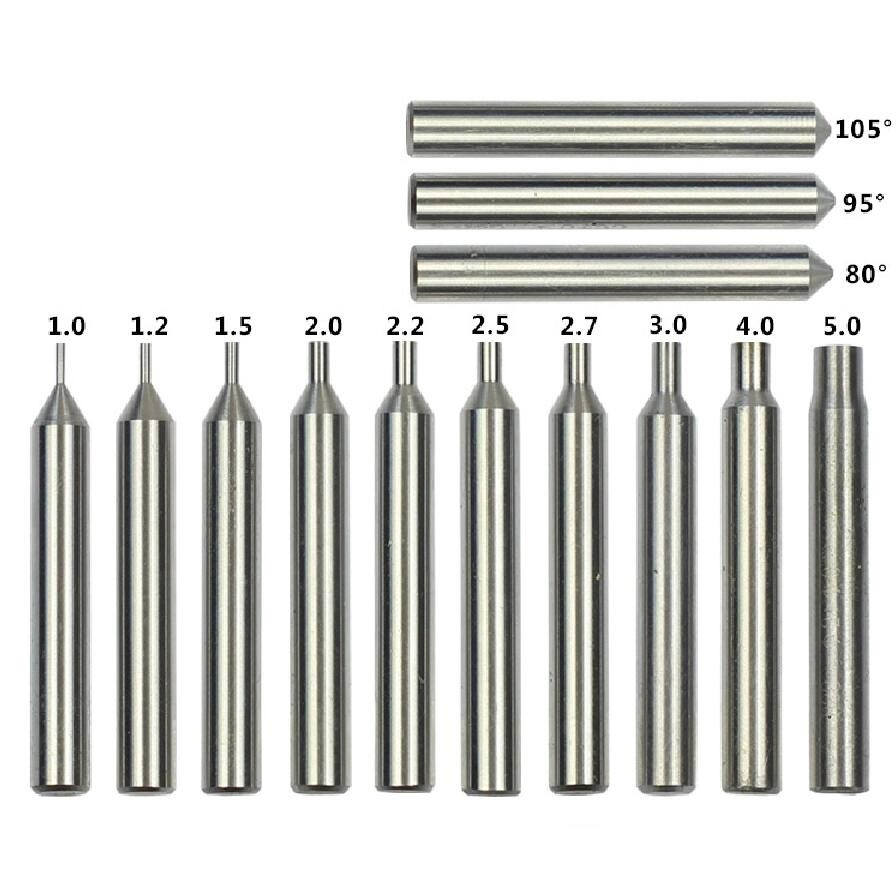 Drill Bit Locksmith Tools Tungsten Carbide Milling Cutters For Key Machines