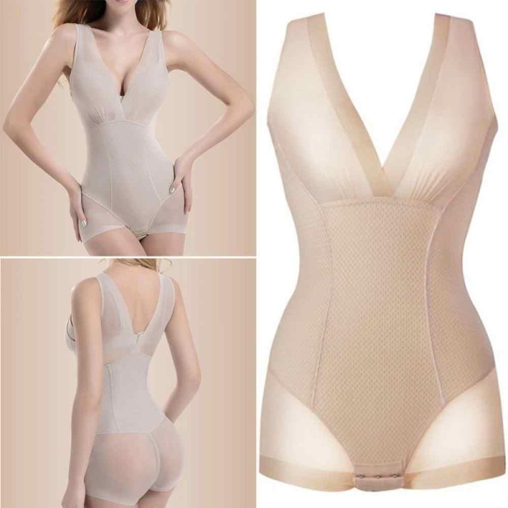 0d7749193 ... None XL Shapewear Lady Neck Shaper Slimming Wholesale Burn Bodysuit Fat  Tummy Slim Full Sexy V L ...