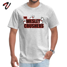 Wesley Crushers 2019 Discount Printed On T-shirts Crew Neck Spain Fabric Riverdale Tops Tees for Men Tee Shirts Summer Fall