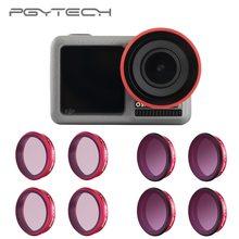 PGYTECH DJI Osmo eylem profesyonel filtreler UV CPL ND 8 16 32 64 PL lens filtresi ND8 ND16 ND32 ND64