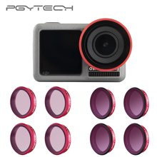 PGYTECH For DJI Osmo Action Professional Filters UV CPL ND 8 16 32 64 PL lens Filter ND8 ND16 ND32 ND64