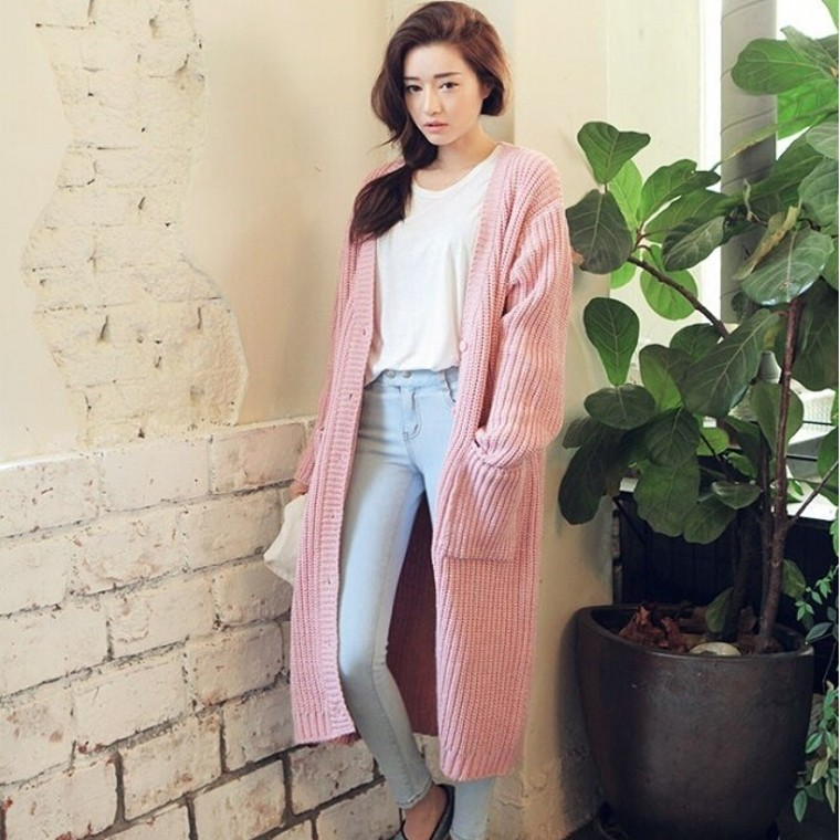 Online Get Cheap Pink Maxi Cardigan -Aliexpress.com | Alibaba Group