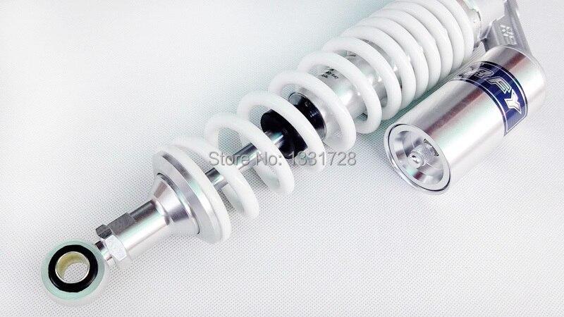 Blanc RFY air gaz 340 MM amortisseur adapté à VMAX V-MAX RD250 RD350 350 XJR 400 600 1100 1200 1300 modification universelle