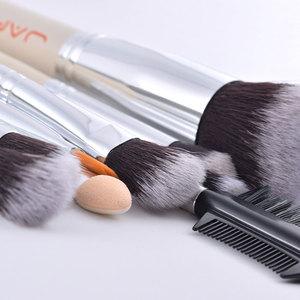 Image 3 - JAF 24pcs High Quality Makeup Brushes Tools, Professional Vegan Makeup Brush Set, Premium Makeup Brush Kit J2434Y W