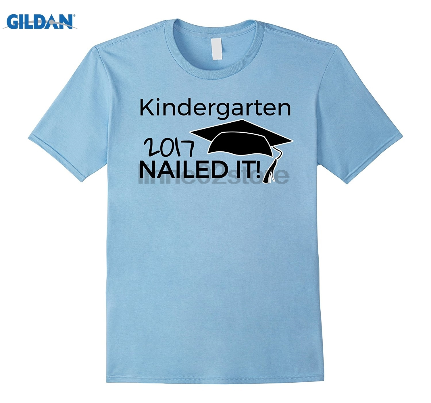 Gildan Kindergarten Nailed It Graduation T Shirt Tot