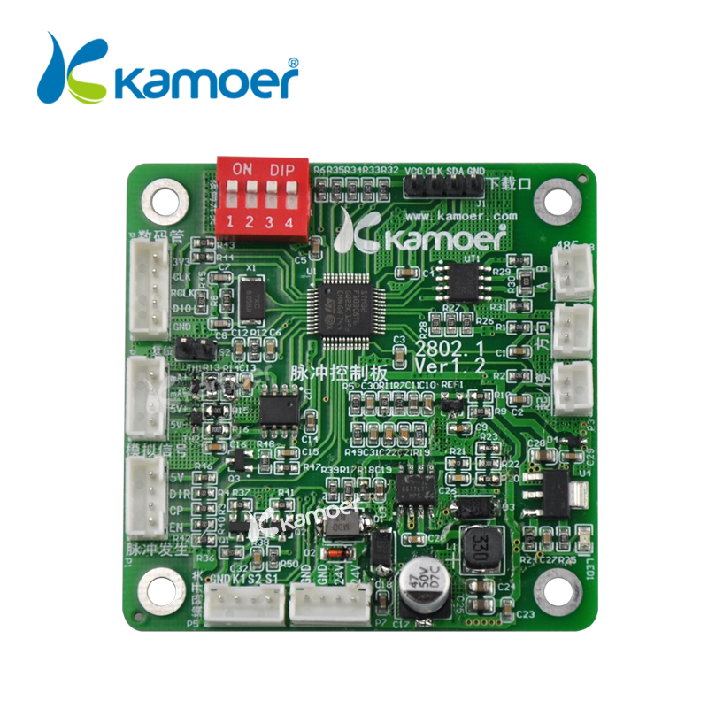 Kamoer 2802 Pulse Generator Controller Working With Step Motor Driver Board For Stepper Motor Peristaltic Pump цена